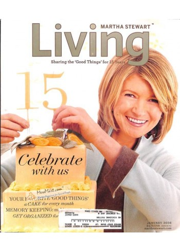 Martha Stewart Living, January 2006