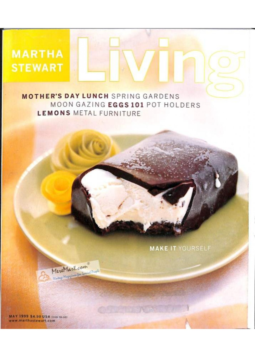 Martha Stewart Living Magazine May 1999