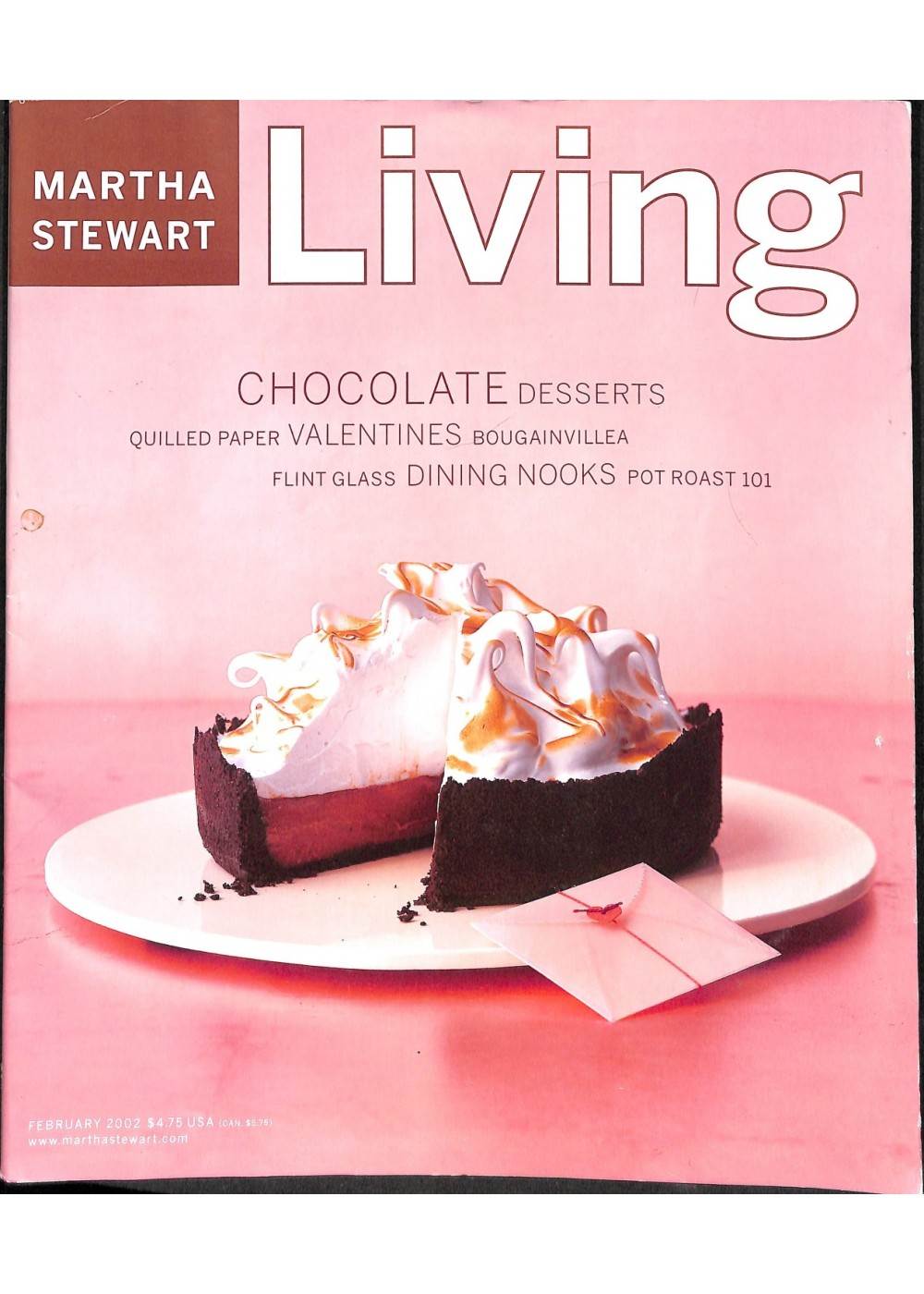 Martha Stewart Living Magazine February 2002