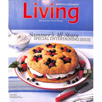 Martha Stewart Living, July 2007