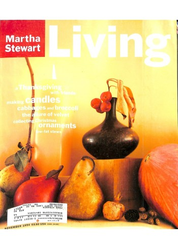 Cover Print of Martha Stewart Living, November 1994