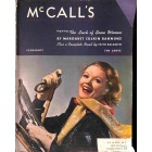Cover Print of McCall's, February 1939