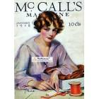 McCalls, January, 1918. Poster Print. Z.P. Nicolaki .