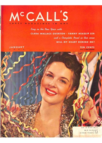 Cover Print of McCall's, January 1939