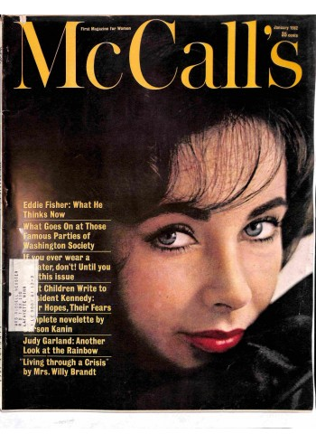 Cover Print of McCall's, January 1962