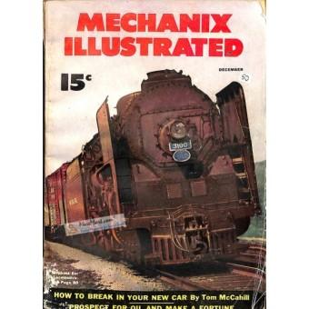 Mechanix Illustrated Magazine, December 1950