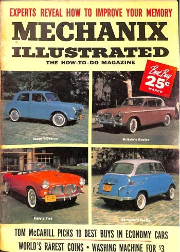 Mechanix Illustrated, March 1959