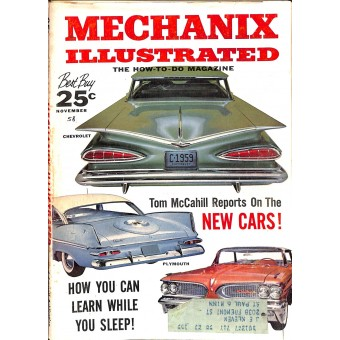 Mechanix Illustrated Magazine, November 1928