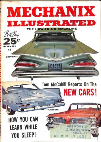 Mechanix Illustrated, November 1928