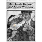 Merchants Record And Show Window, December, 1914. Poster Print.