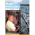 Cover Print of Model Railroader, April 1973