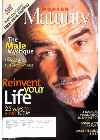Cover Print of Modern Maturity, January 2000