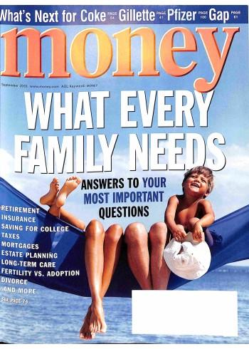 Money, September 2001