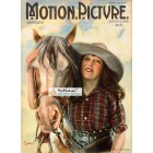 Motion Picture, January, 1922. Poster Print. Flohri.