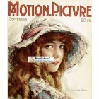 Motion Picture, September, 1918. Poster Print.
