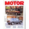 Cover Print of Motor Magazine, April 1990