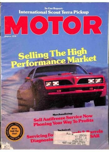 Motor, August 1978