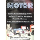 Cover Print of Motor, October 1973