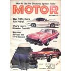 Cover Print of Motor, September 1973