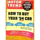 Motor Trend, April 1954