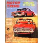 Motor Trend, April 1963
