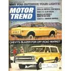 Motor Trend, April 1969