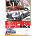 Motor Trend, April 2013