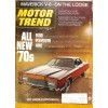 Motor Trend, August 1969