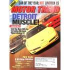 Motor Trend, August 2000