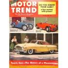 Motor Trend, December 1953