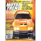 Motor Trend, December 1980