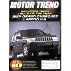 Motor Trend, December 1992