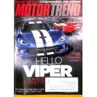 Motor Trend, December 2012
