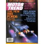 Motor Trend, July 1980