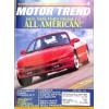 Cover Print of Motor Trend, June 1992