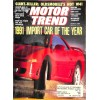 Motor Trend, March 1991