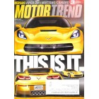 Motor Trend, March 2013