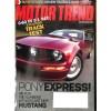 Motor Trend, November 2004