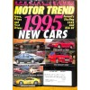 Cover Print of Motor Trend, October 1994