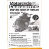 Cover Print of Motorcycle Consumer News, April 1997