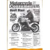 Cover Print of Motorcycle Consumer News, April 2000