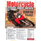 Motorcycle Consumer News, April 2009