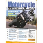 Motorcycle Consumer News, August 2012
