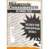 Cover Print of Motorcycle Consumer News, December 1993