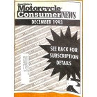 Motorcycle Consumer News, December 1993