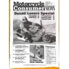 Cover Print of Motorcycle Consumer News, December 1998