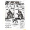 Cover Print of Motorcycle Consumer News, May 2001