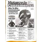Motorcycle Consumer News, November 1998