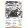 Cover Print of Motorcycle Consumer News, October 2001