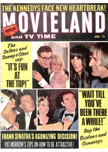 Movie and TV Time, April 1966